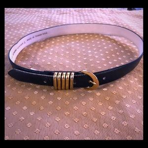 Vintage Arrivanto Leather Belt